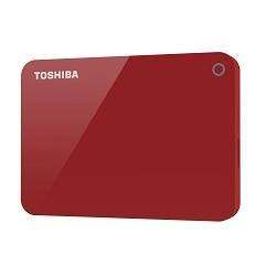 Toshiba externe harde schijf Canvio Advance 1TB rood