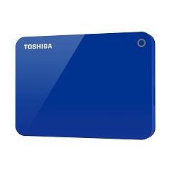 Toshiba externe harde schijf Canvio Advance 2TB blauw