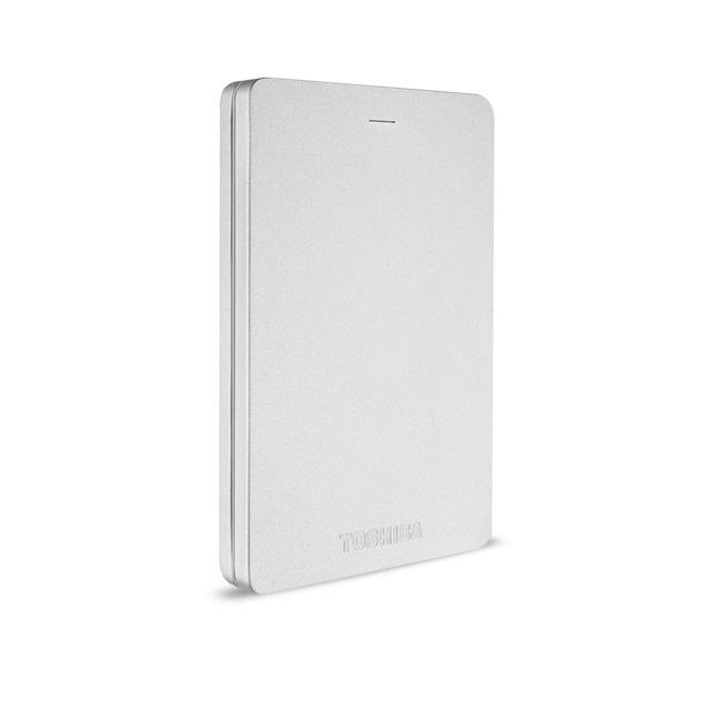 Toshiba externe harde schijf Canvio Alu 500GB zilver