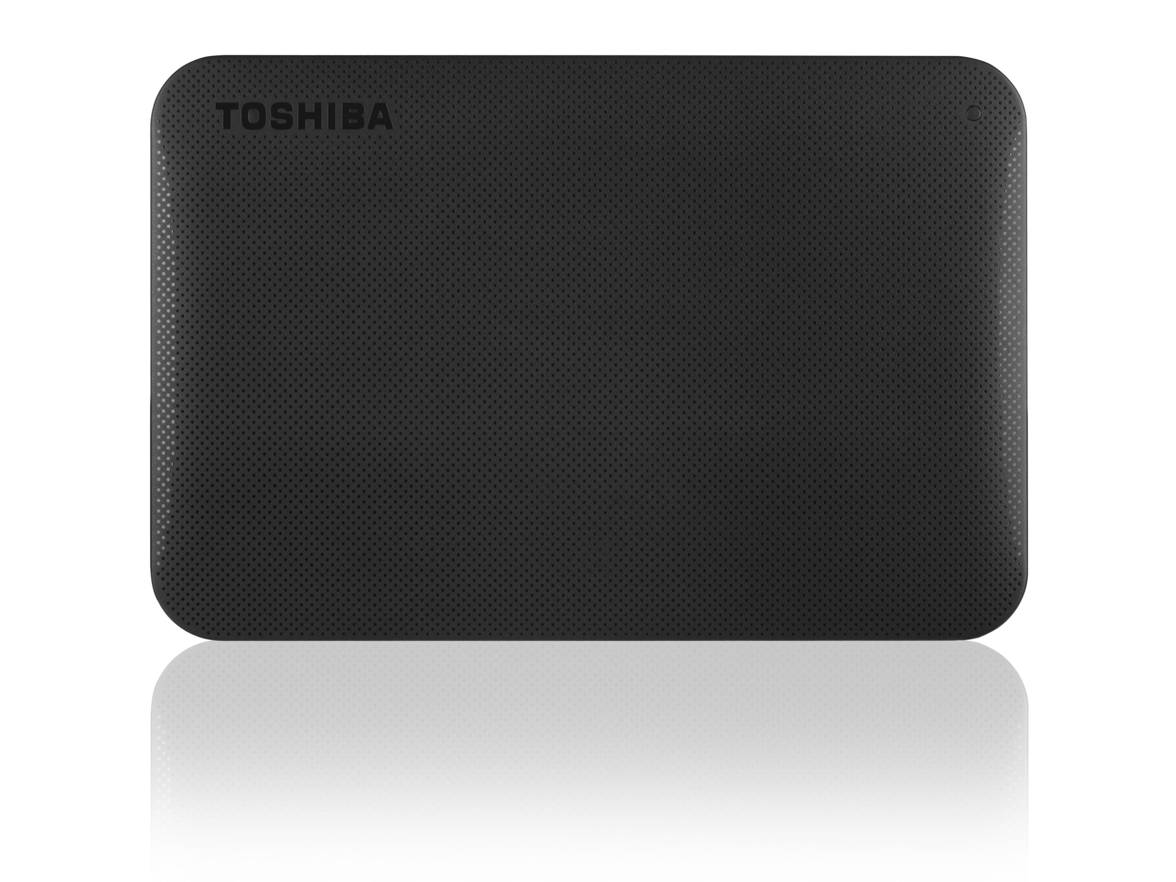 Toshiba externe harde schijf Canvio Connect II 500GB zwart
