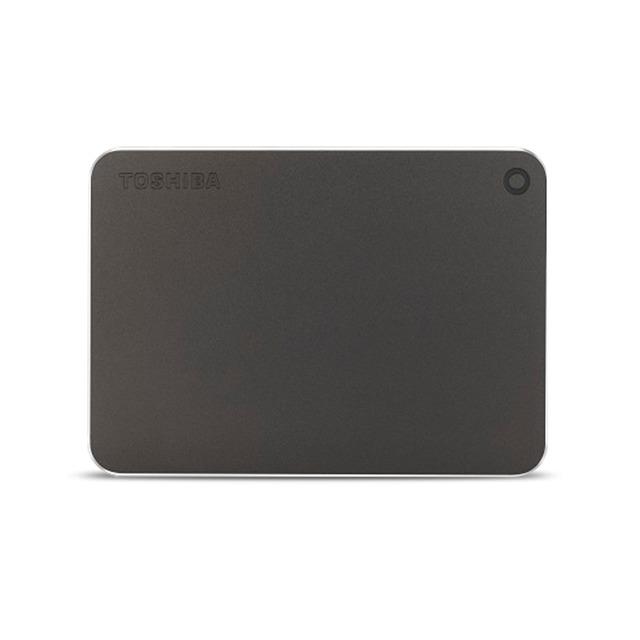 Toshiba externe harde schijf Canvio Premium 2TB grijs