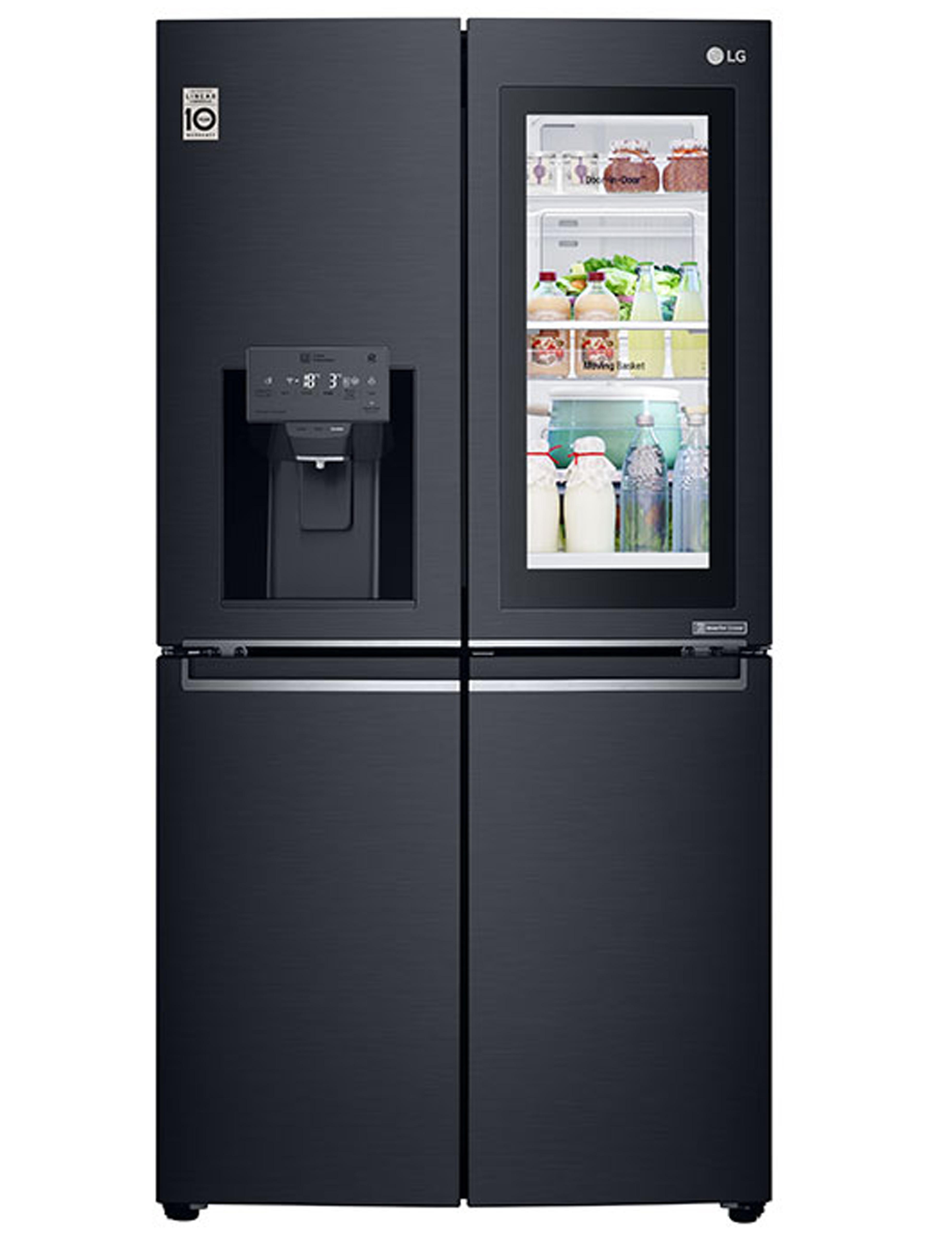 LG amerikaanse koelkast GMK9331MT Instaview zwart