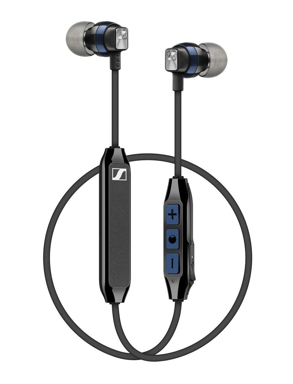 Sennheiser in ear oordopjes CX 6.00BT blauw zwart