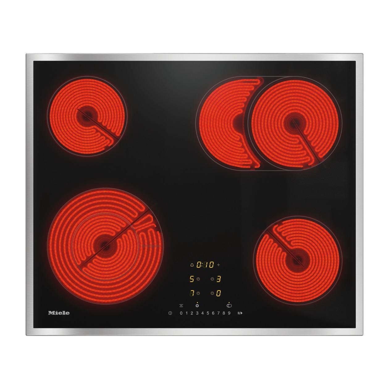 Miele KM 6540 FR Keramische inbouwkookplaat Zwart