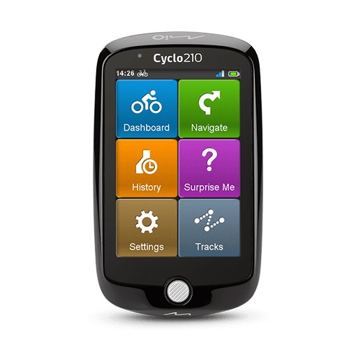 Korting Mio Cyclo 210 Europa fietsnavigatie
