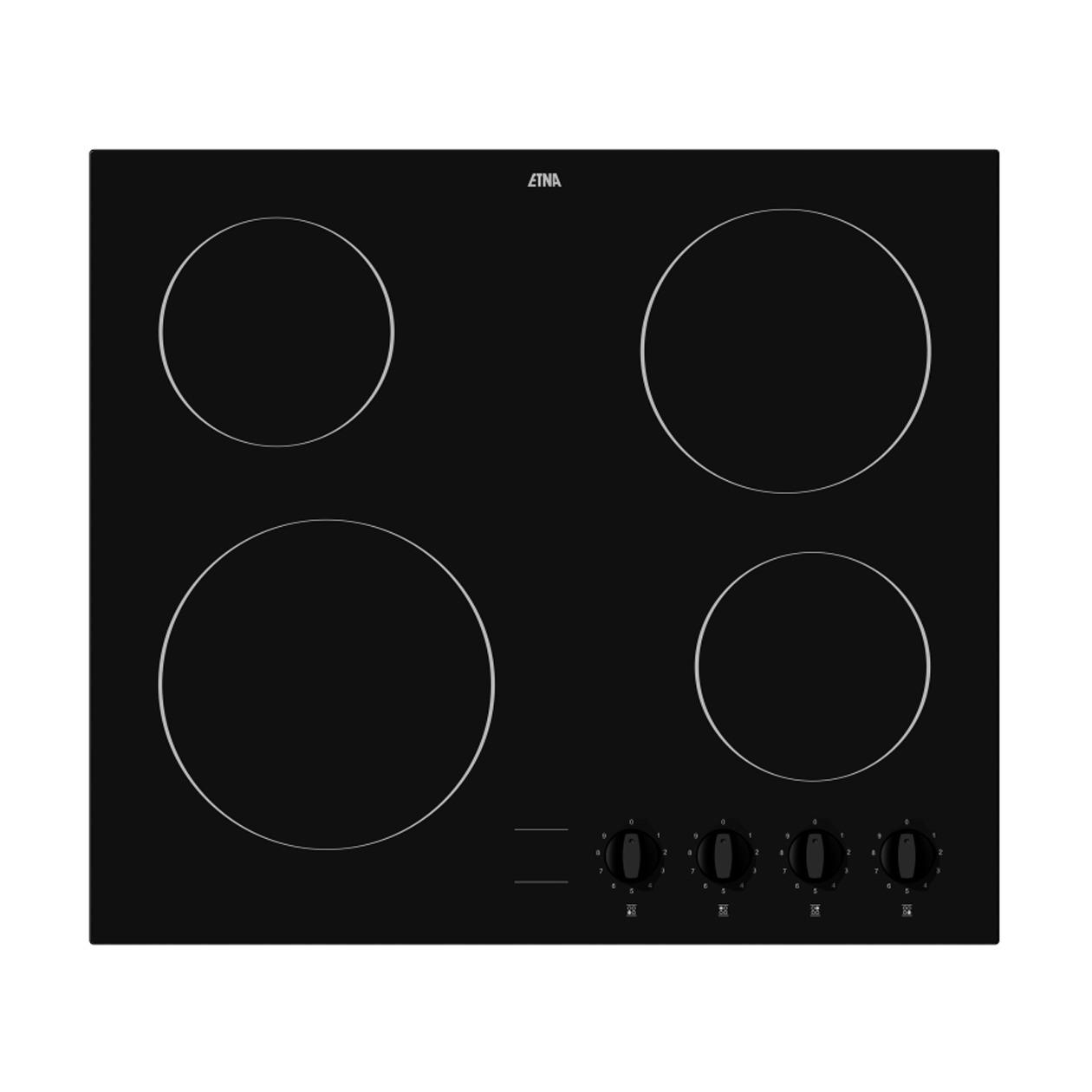 Etna KC160ZT Keramische inbouwkookplaat Zwart