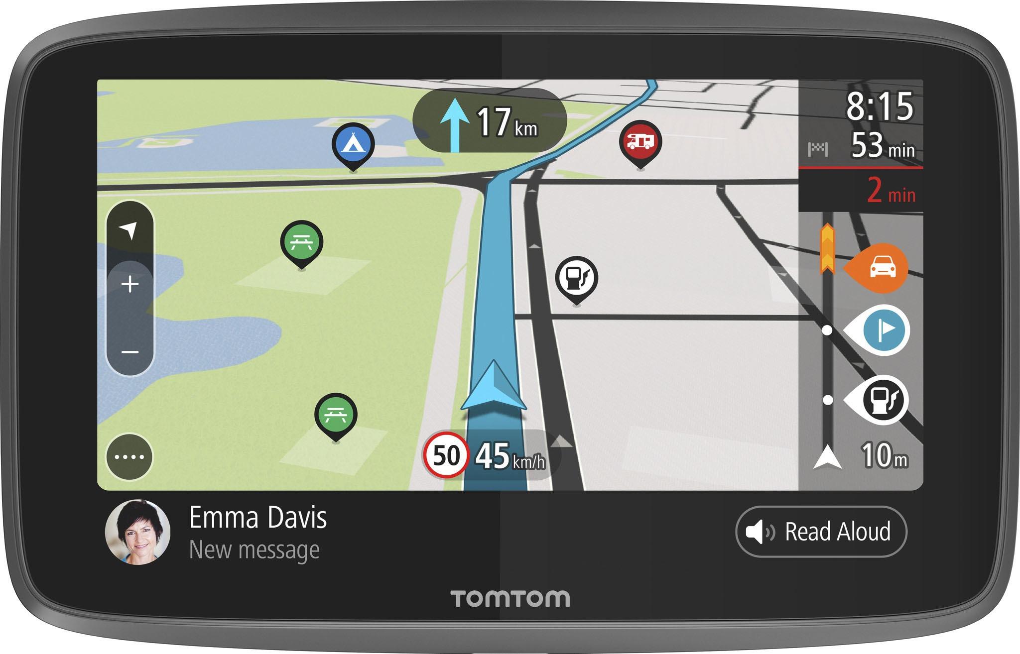 Korting Tomtom GO Camper World autonavigatie