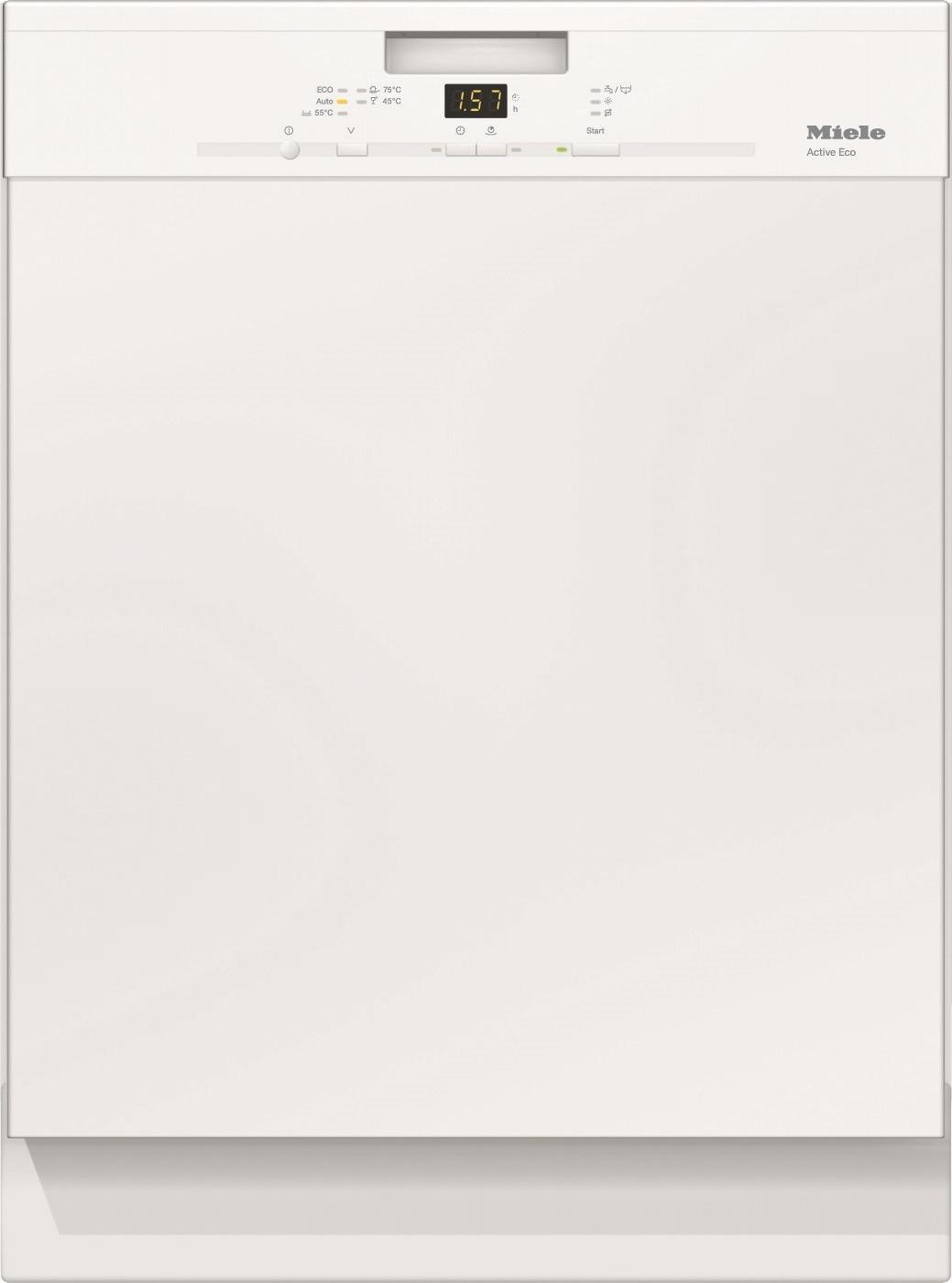 Miele G 4310 SCU brws Vaatwassers 60 cm - Wit