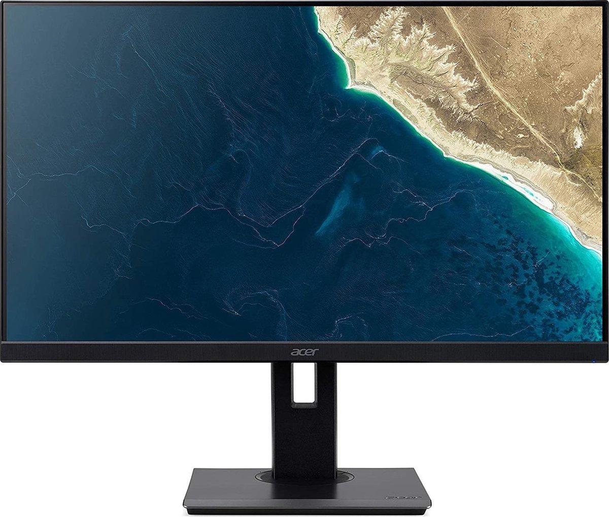Acer B277bmiprzx Monitor Zwart