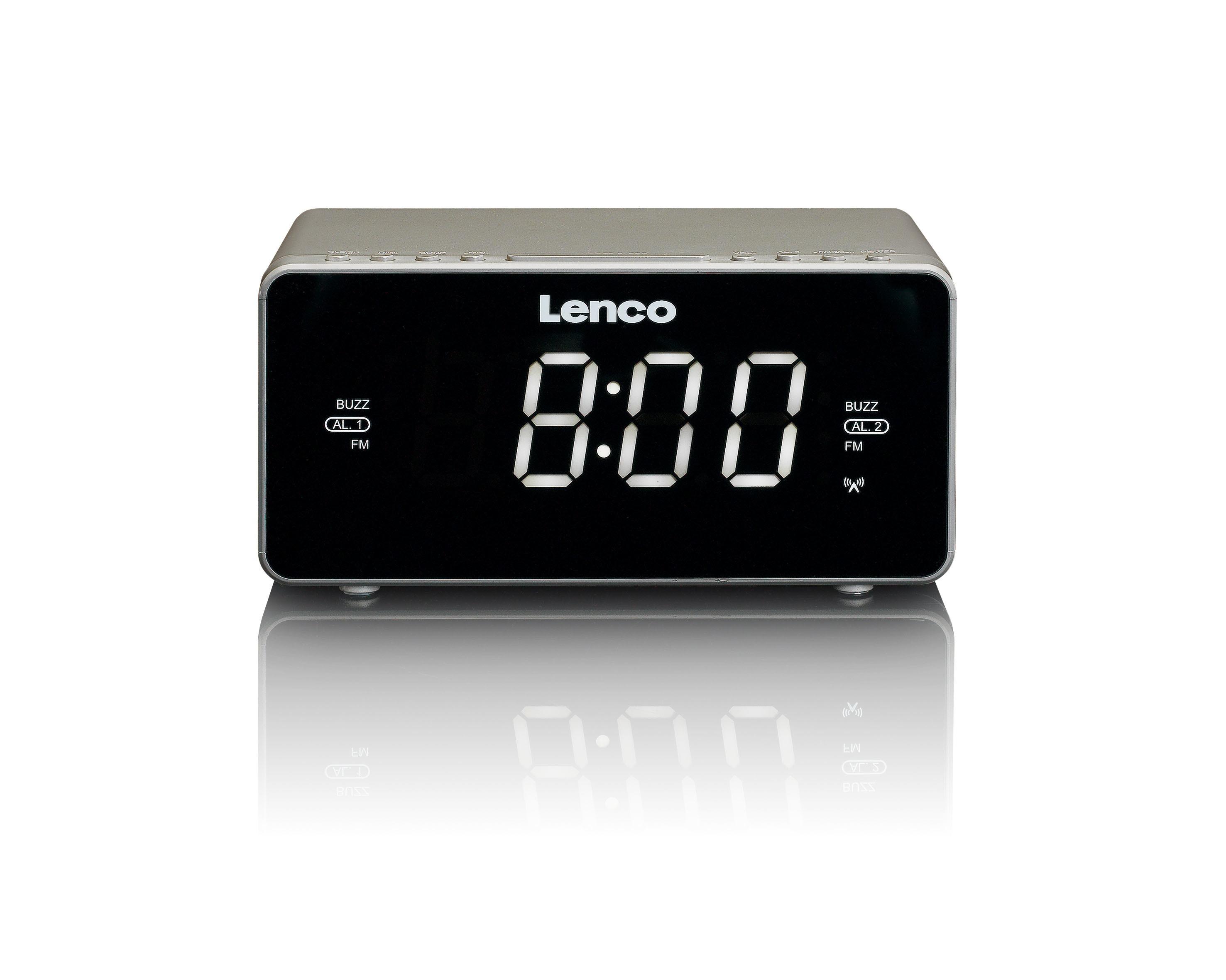 Korting Lenco CR 530 wekker radio