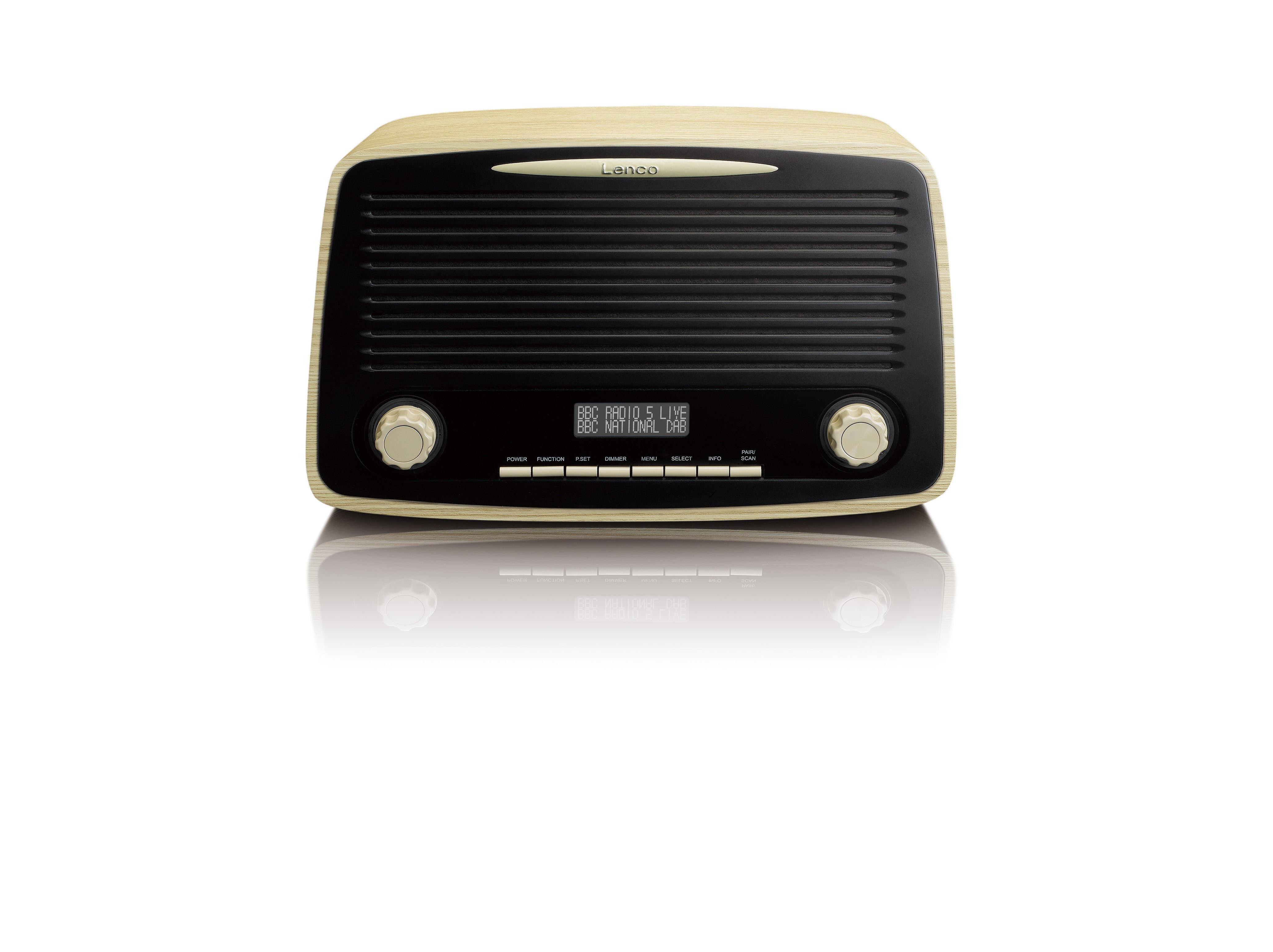 Foto van Lenco DAR-012 DAB radio