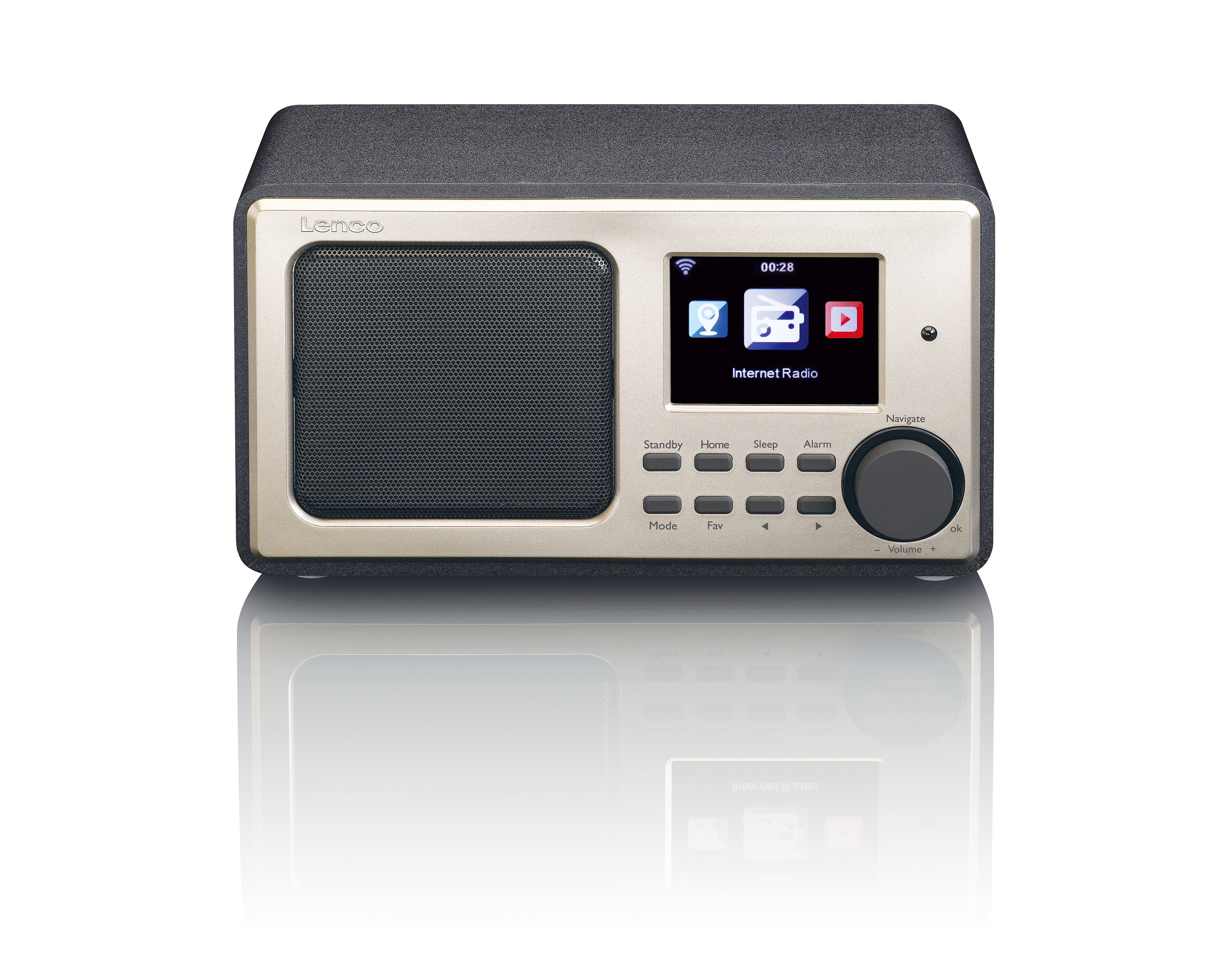 Lenco internet radio DIR 100 zwart