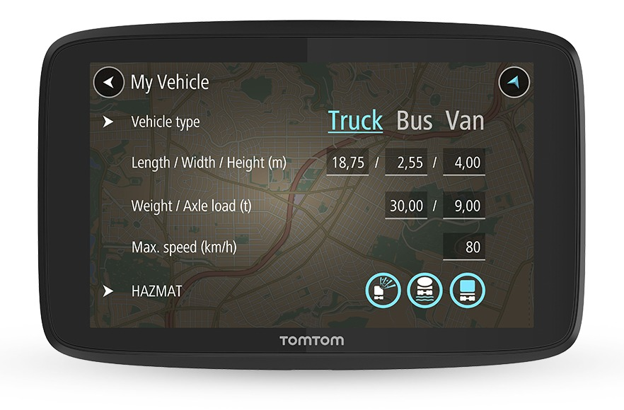 Tomtom navigatiesysteem GO PROFESSIONAL 620 EU