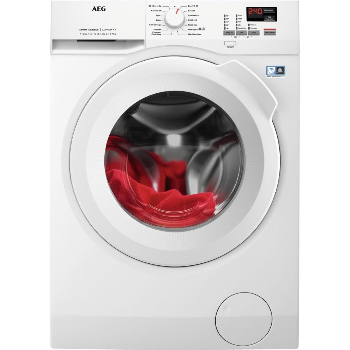 AEG L6FB74KT ProSense Wasmachine Wit