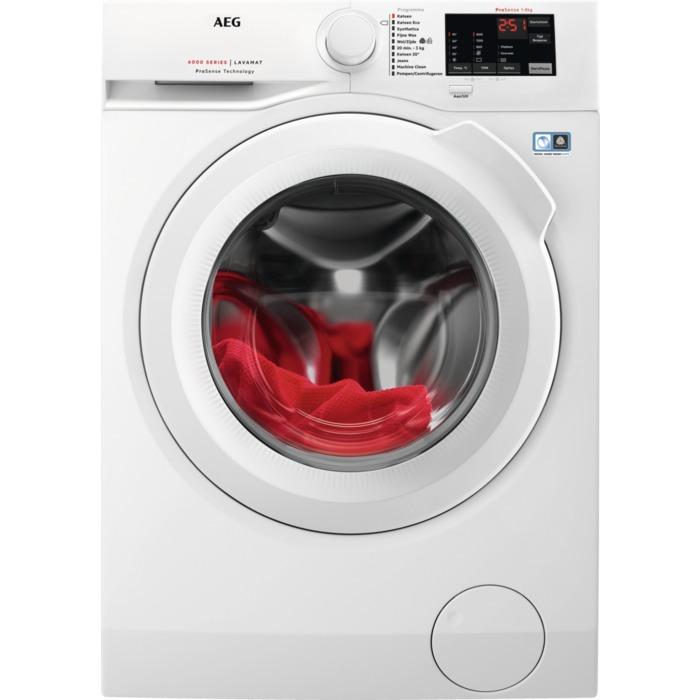 AEG L6FB86IW ProSense Wasmachine Wit