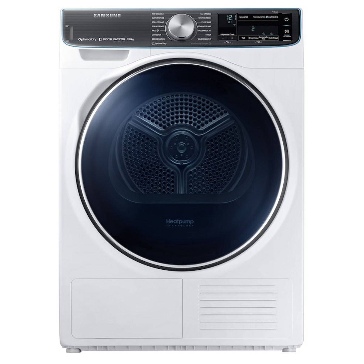 Samsung DV9BN8288AW Warmtepompdroger Wit