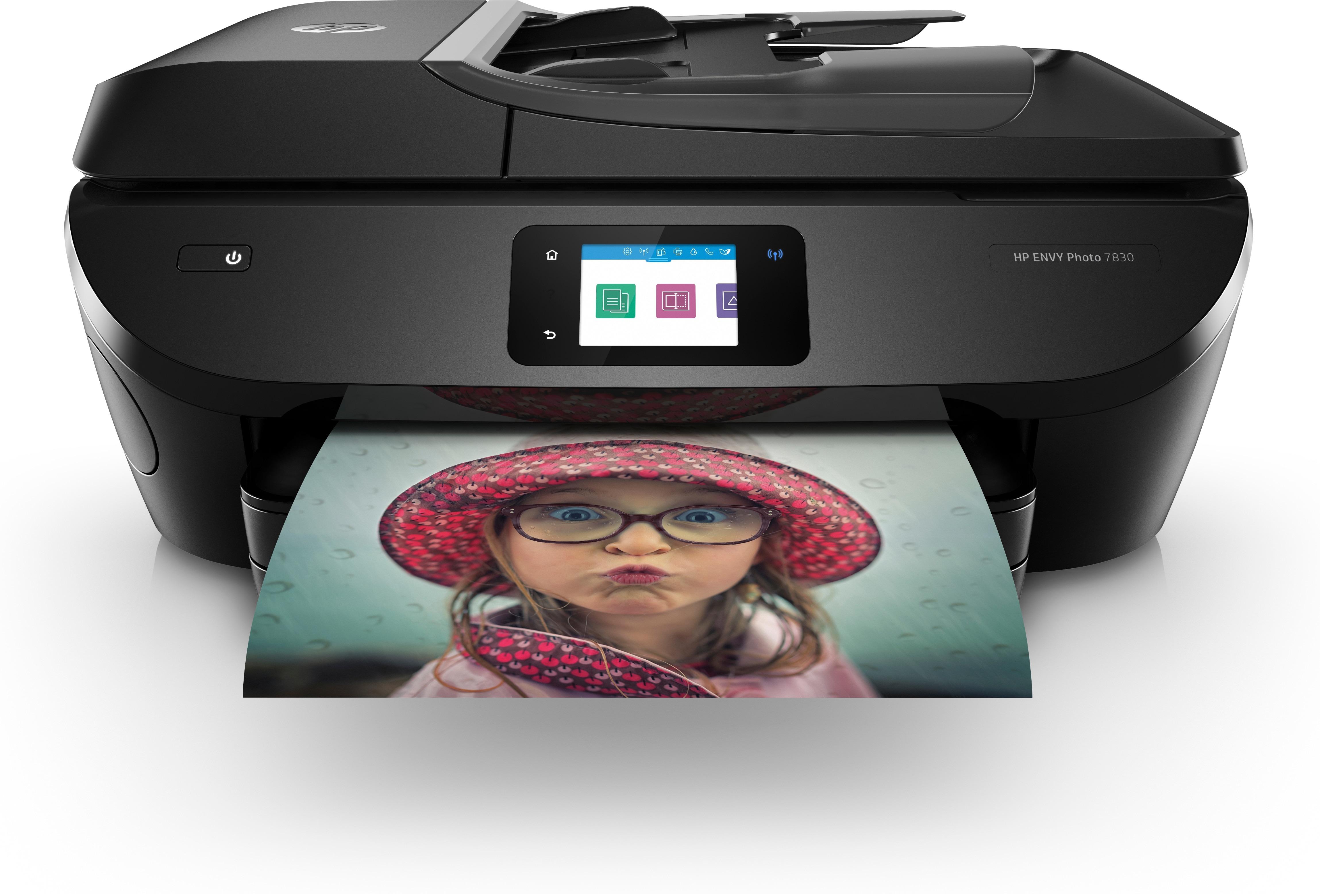 HP all in one inkjet printer ENVY PHOTO 7830