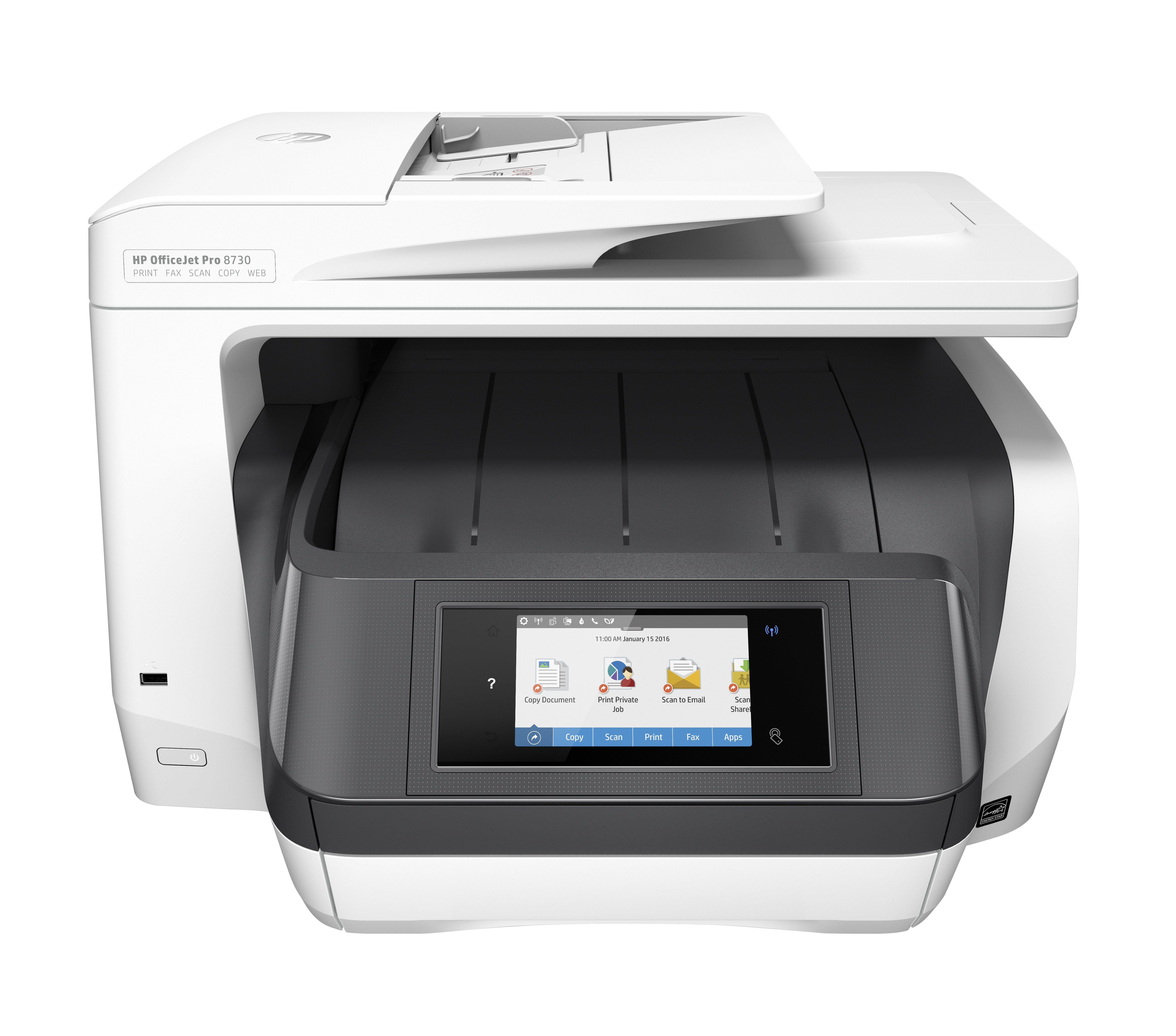 HP OfficeJet Pro 8730 All-in-one inkjet printer Grijs