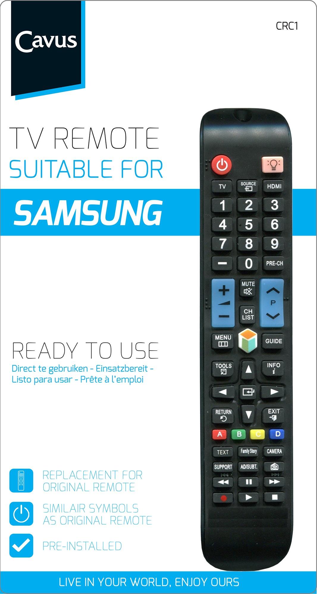 Cavus TV afstandsbediening voor Samsung Afstandsbediening