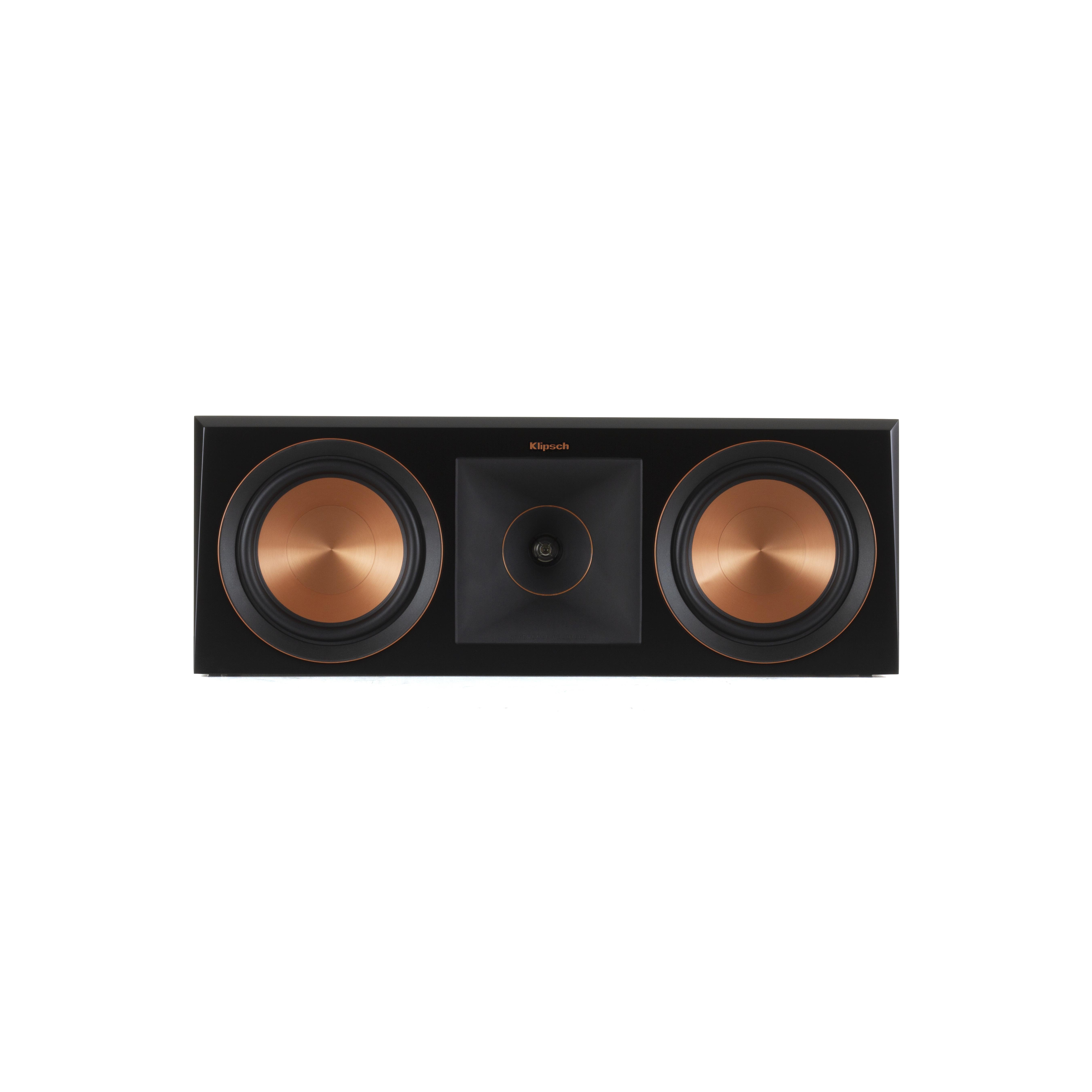 Image of Klipsch boekenplank speaker RP-600C ebbenhout