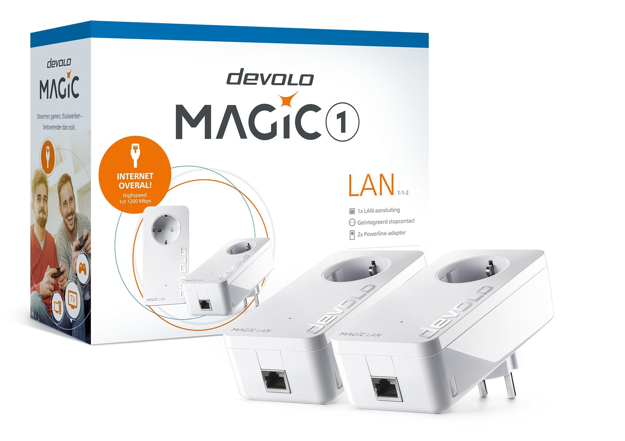 Op Perfect LCD is alles over computer te vinden: waaronder expert en specifiek Devolo Magic 1 LAN Starter Kit Powerline Wit