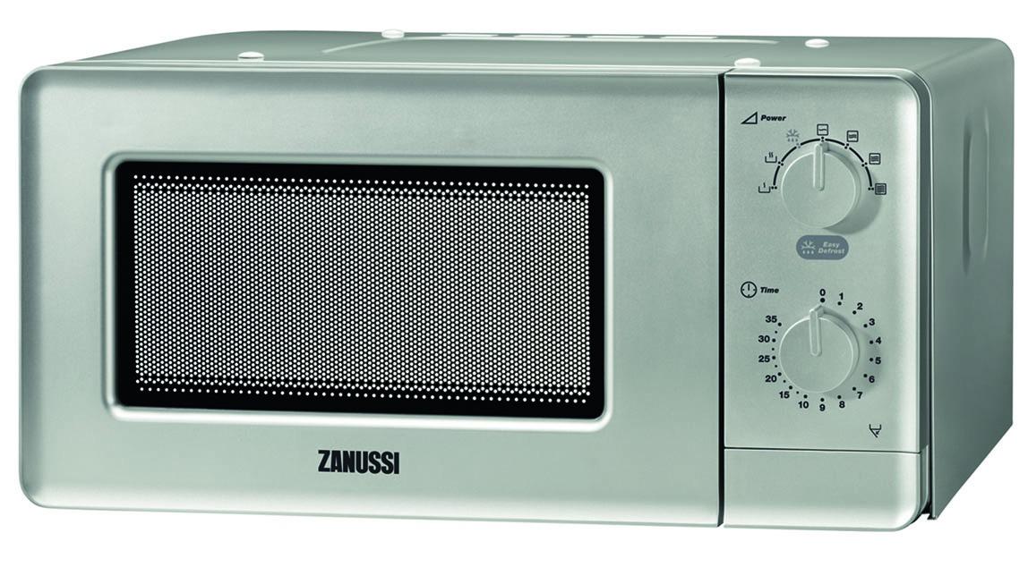 Zanussi inbouw solo magnetron ZFM15100SA zilver
