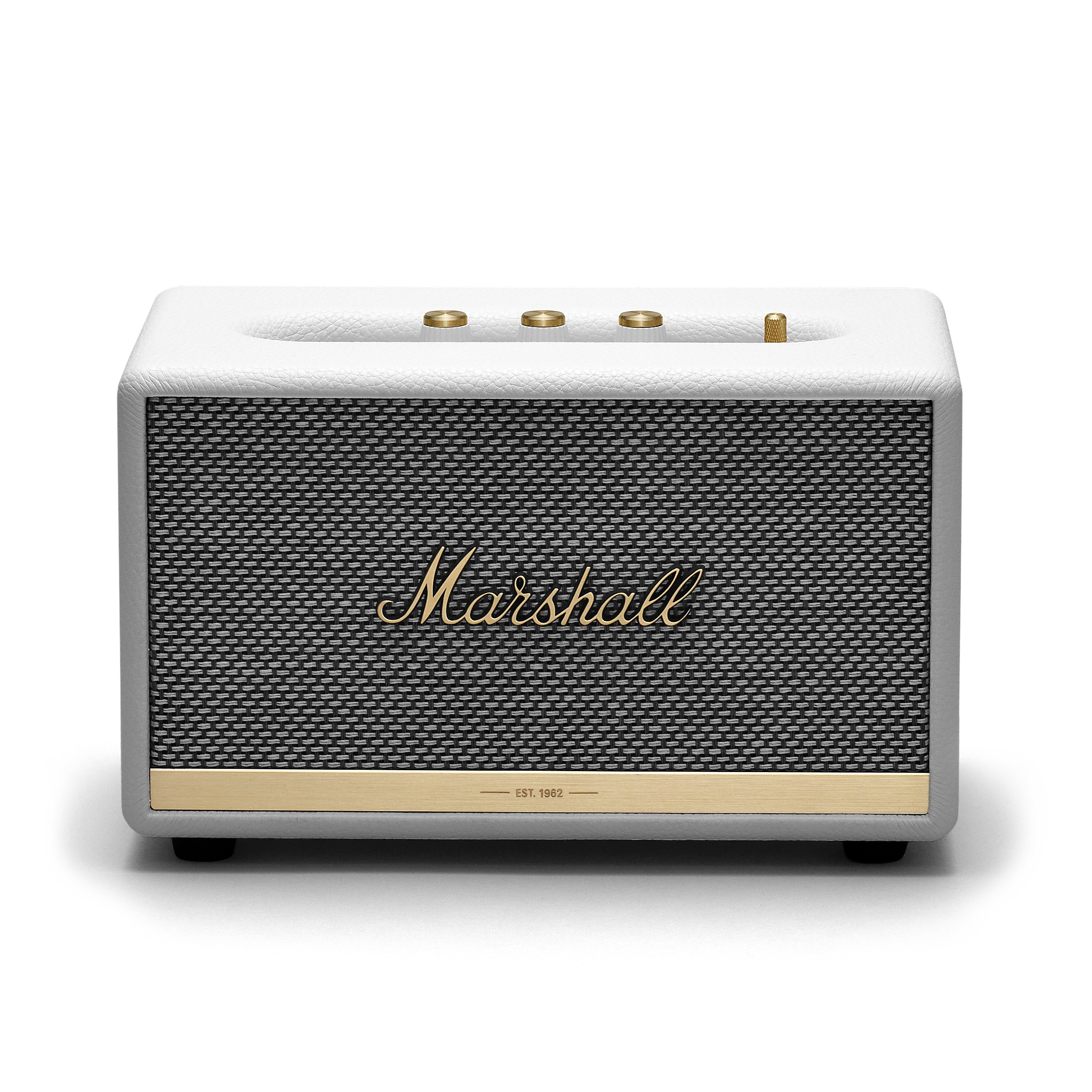 Marshall Acton BT II Bluetooth luidspreker AUX Wit