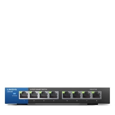 Linksys LGS108-EU-RTL Switch