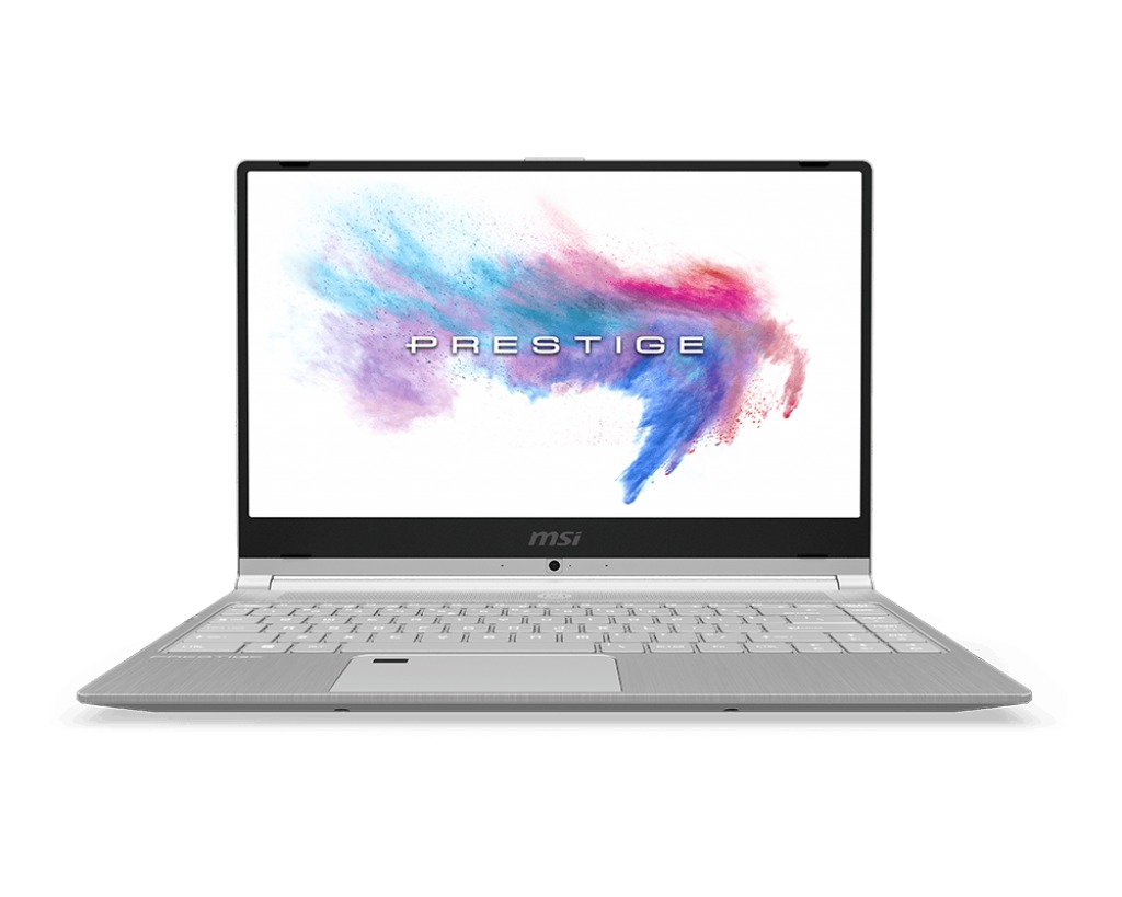 Afbeelding van MSI laptop PS42 8RC-009NL zilver geborsteld metaal