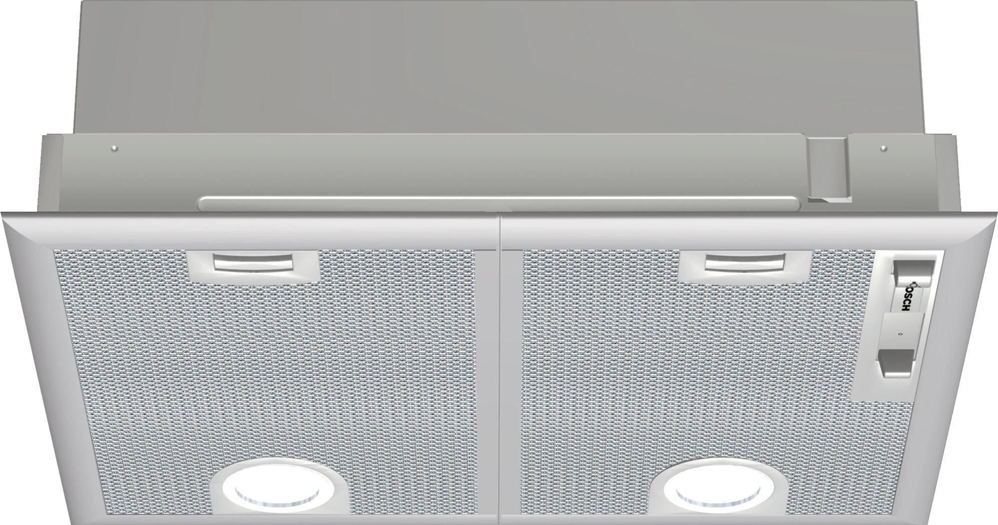 Bosch DHL555BL Afzuigkap onderbouw Zilver