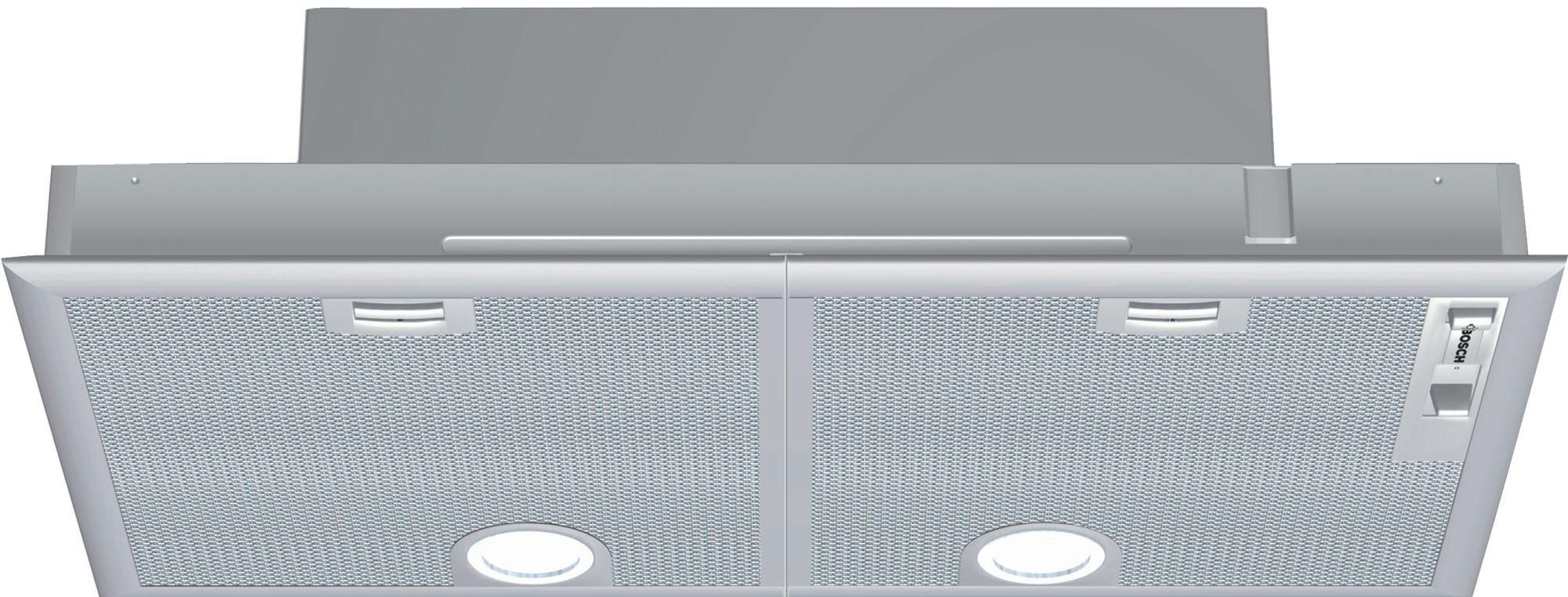 Bosch DHL755BL Afzuigkap onderbouw Zilver