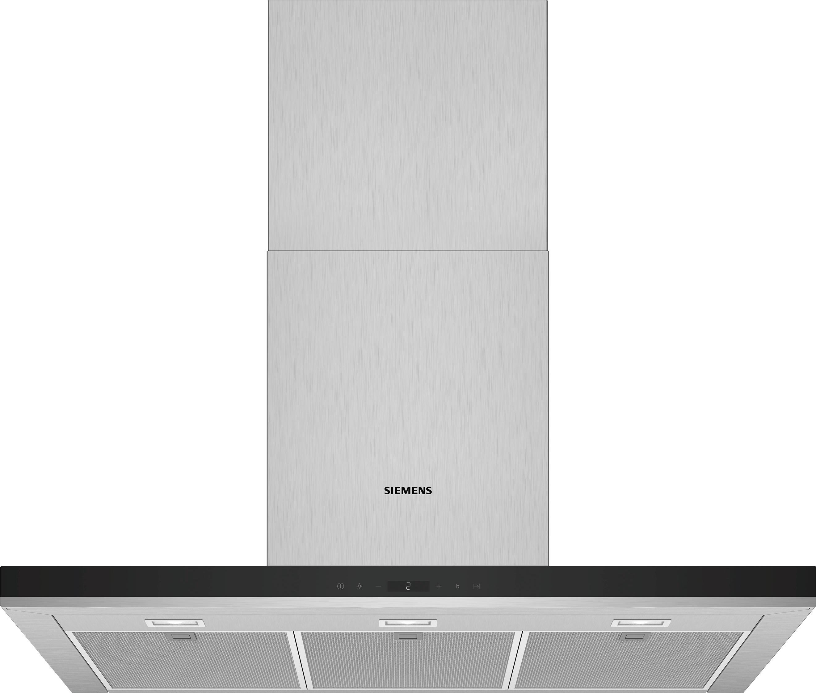 Siemens LC97BHP50 Schouwkap Zilver