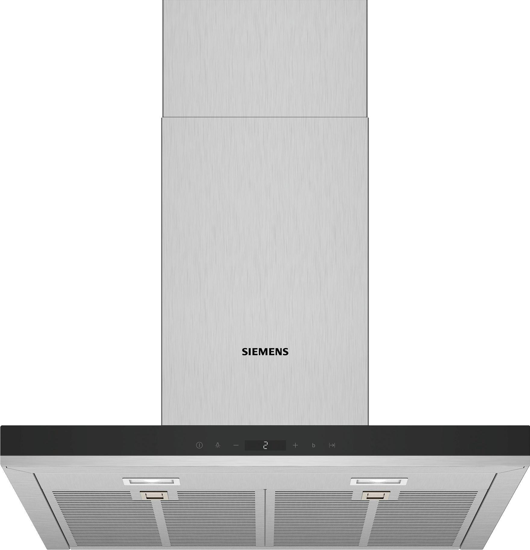 Siemens LC67BIP50 Schouwkap Staal