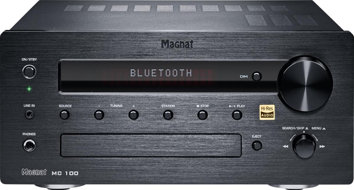 Magnat MC 100 Stereo-receiver 2x35 W Zwart Bluetooth, DAB+, High Resolution audio, USB, WiFi