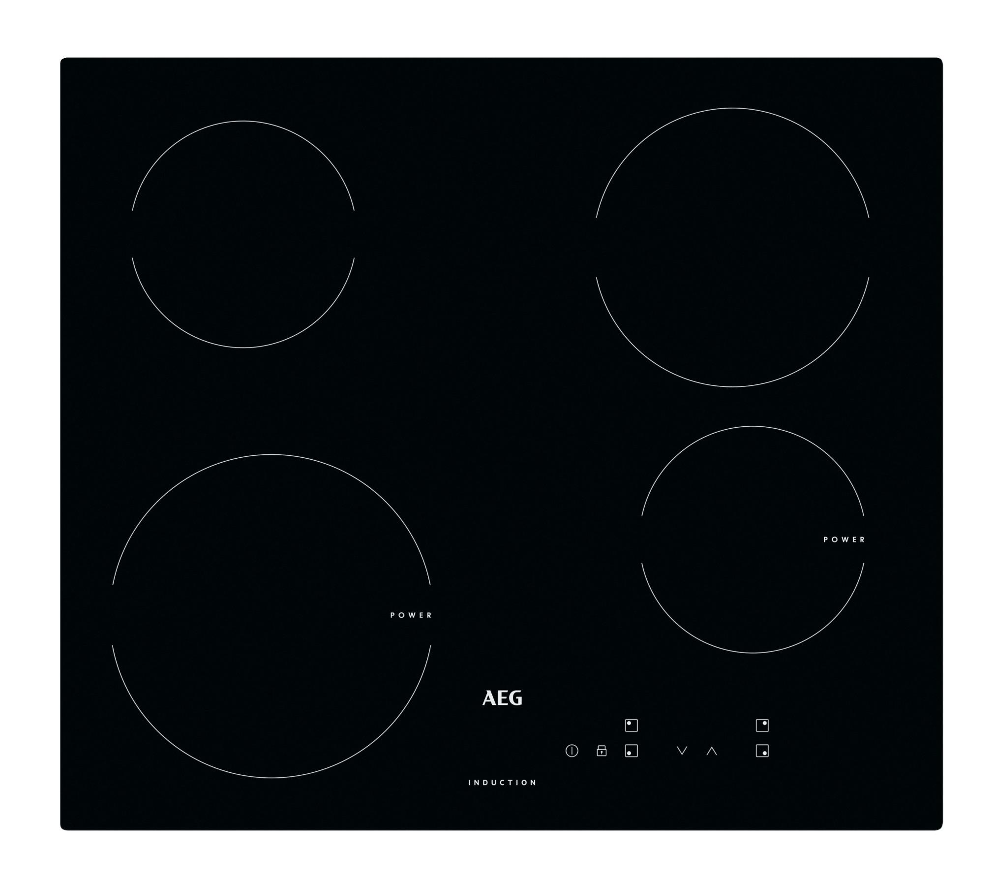 Korting AEG HK604200CB inductie inbouwkookplaat