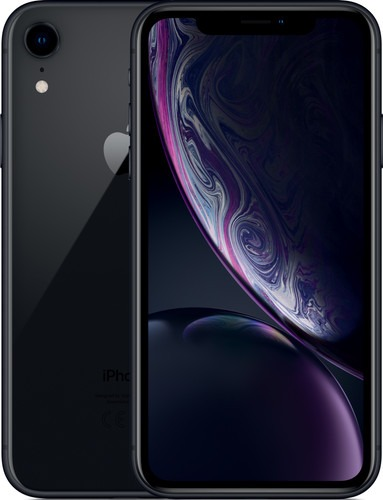 Apple smartphone iPhone XR 128GB zwart