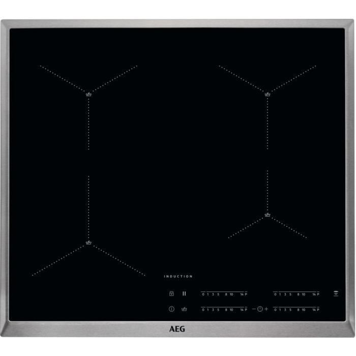 AEG IAE64411XB Inductie inbouwkookplaat Zwart