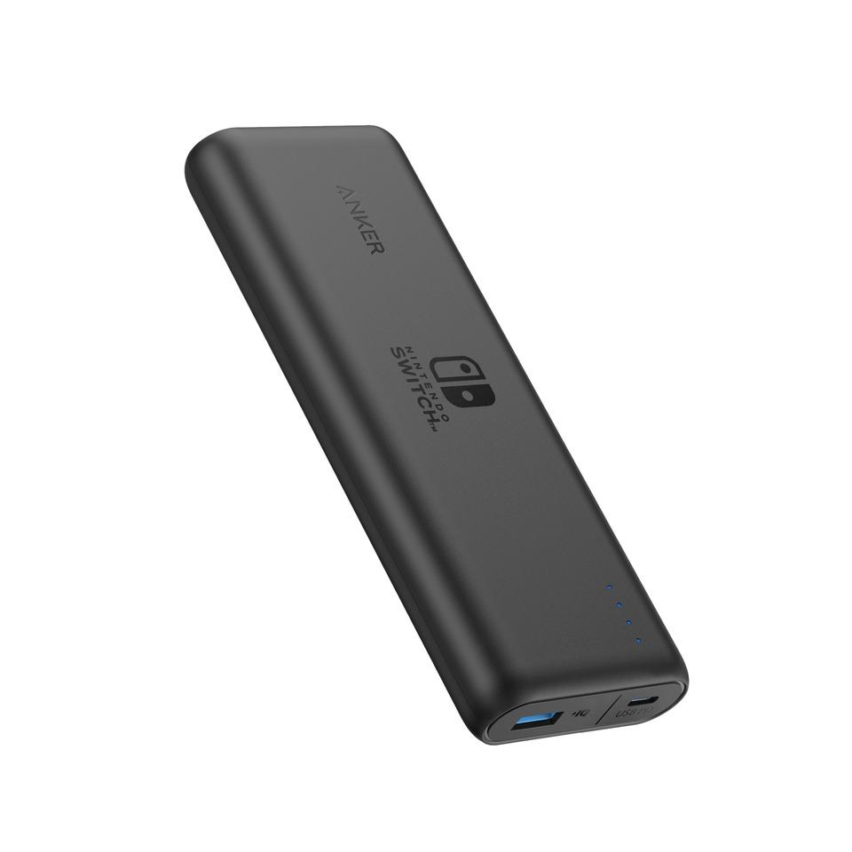Anker powerbank PowerCore Speed 20100 PD Nintendo Switch Editie zwart