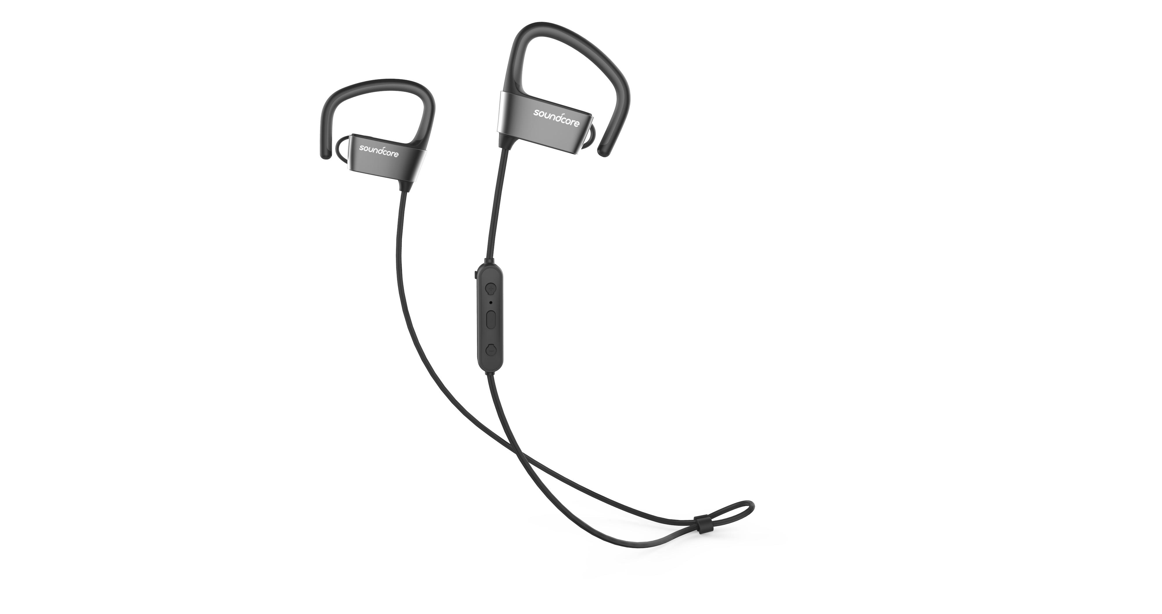 Afbeelding van Anker in-ear oordopjes SoundCore Arc zwart/grijs