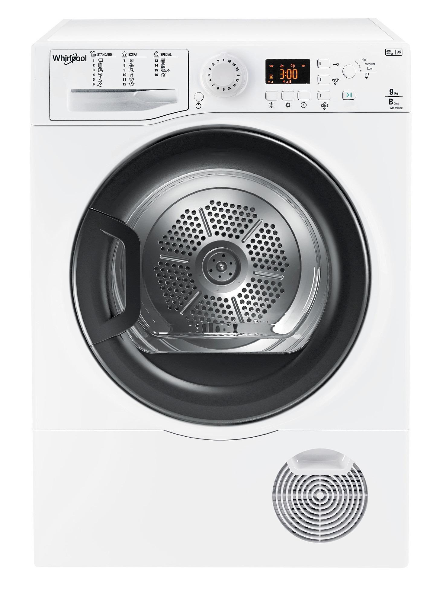 Whirlpool WTD 950B BK EU condensdroger