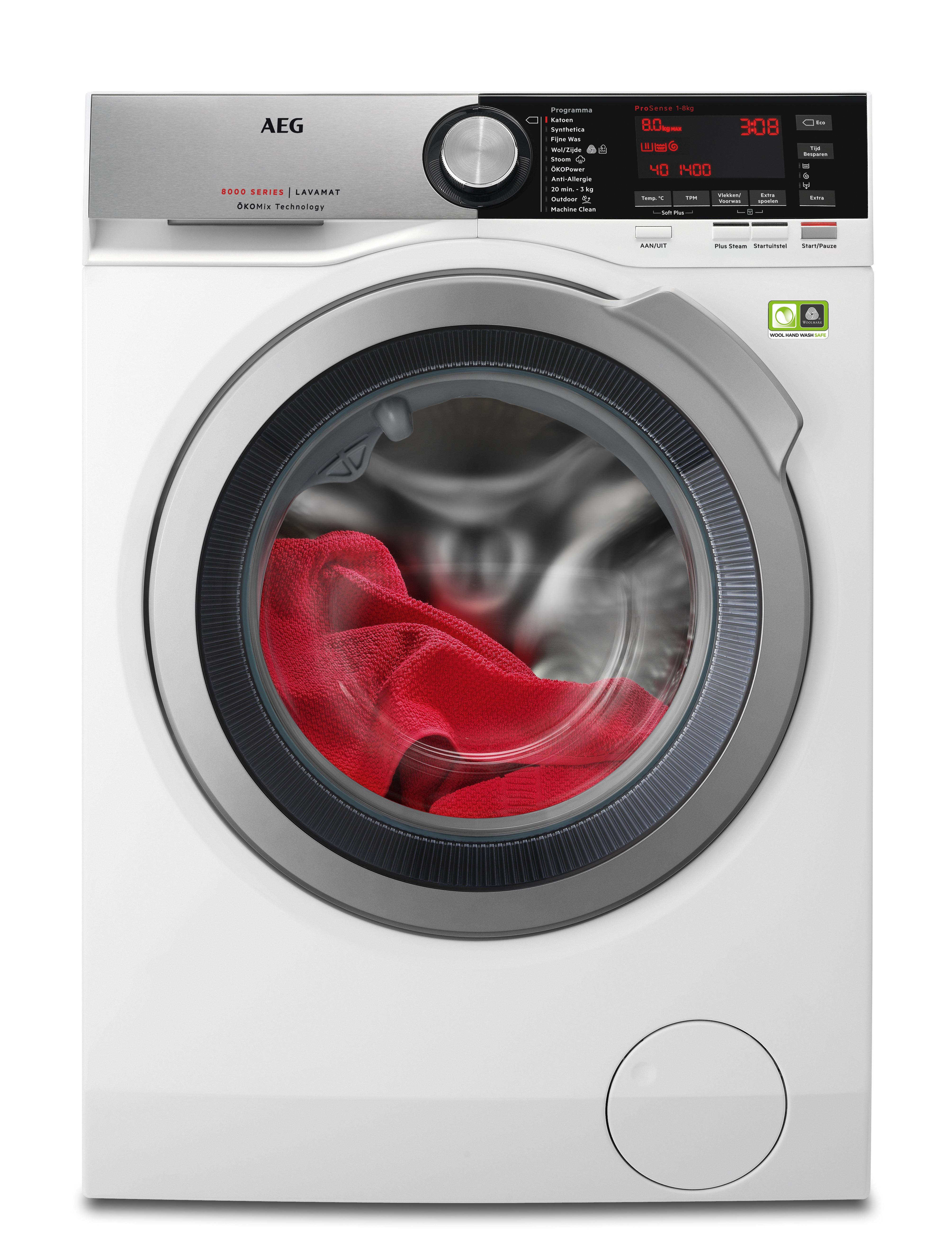 AEG L8FEN94CS ÖKOMix Wasmachine Wit