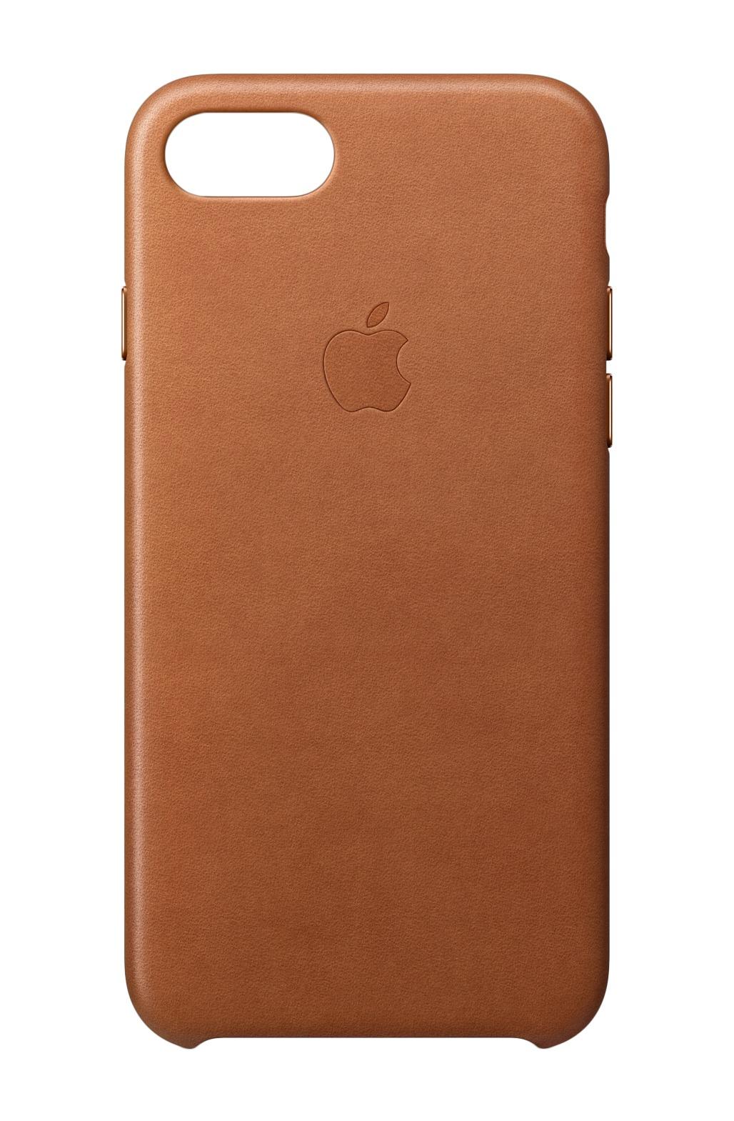 Apple Leren hoesje iPhone 8-7 Zadelbruin