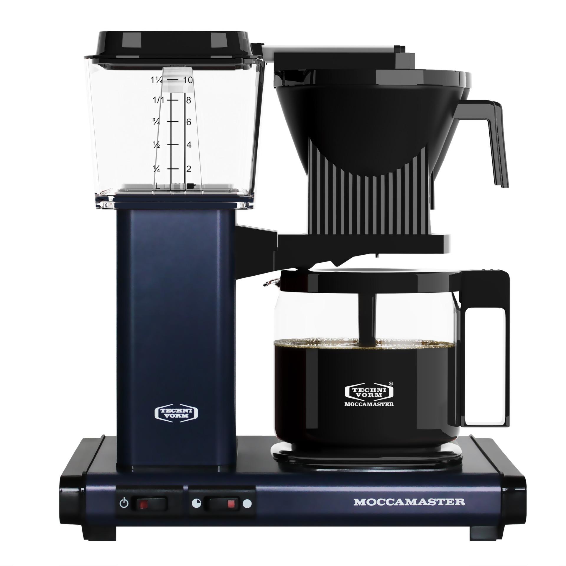 Moccamaster koffiefilter apparaat KBG741 AO donkerblauw