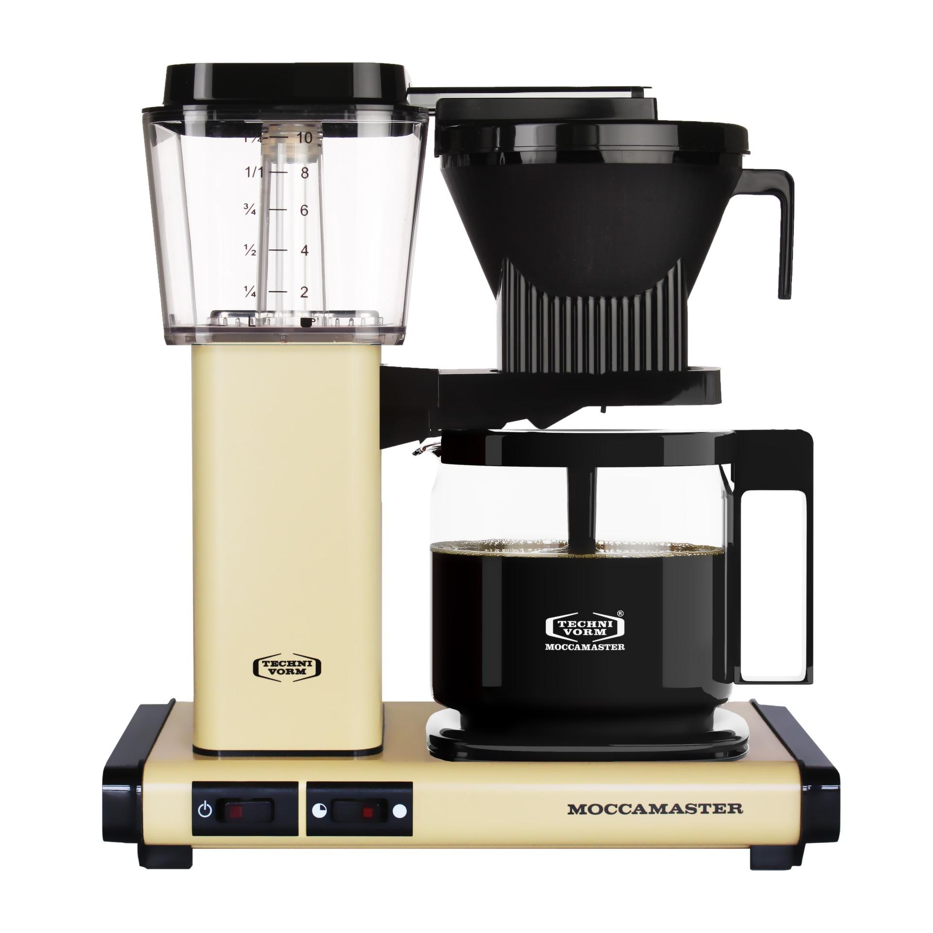 Moccamaster koffiefilter apparaat KBG741 AO pastel geel