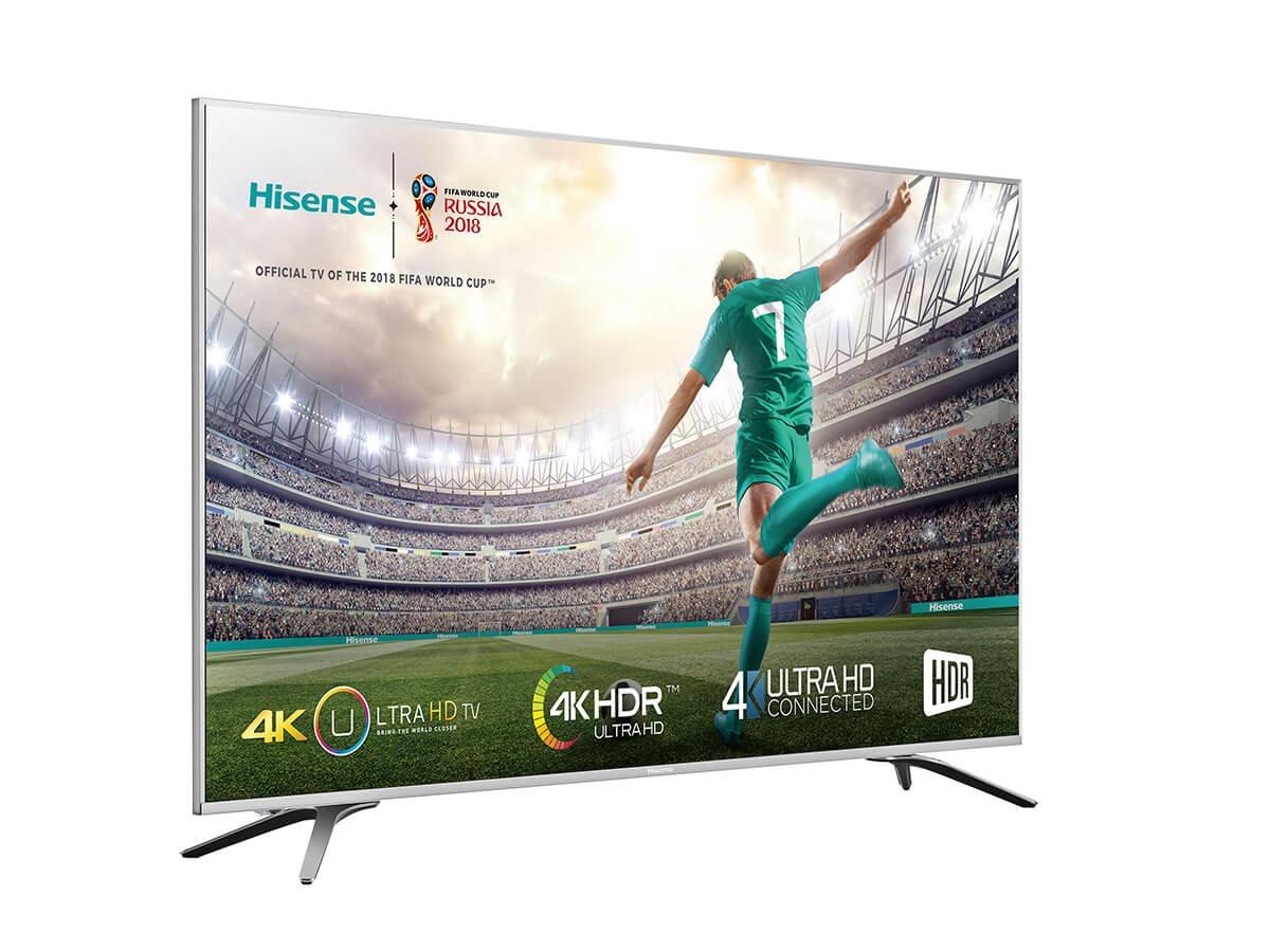 HISENSE UHD TV H43A6500 ZILVER