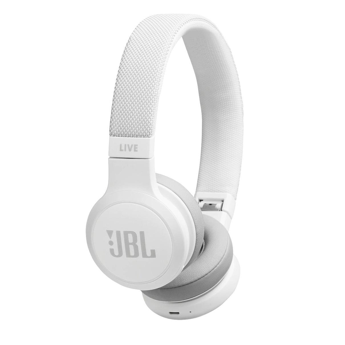 Foto van JBL Live 400BT Bluetooth On-ear hoofdtelefoon