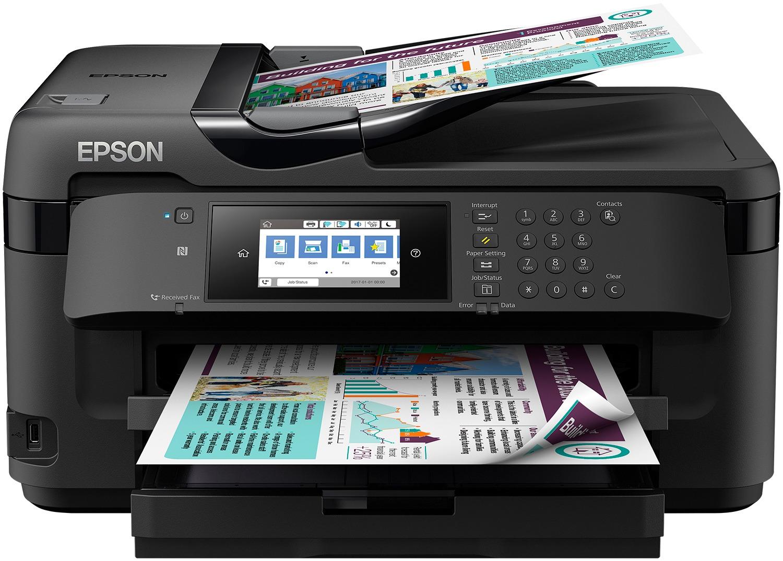 Epson all-in-one inkjet printer WF-7710DWF multifunction inkjet 4in1 A3+