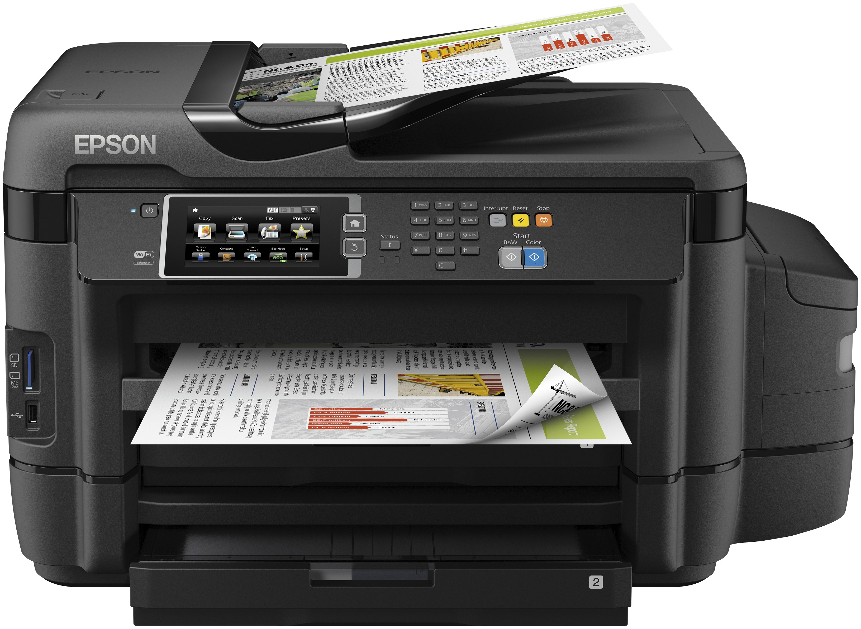 Epson all-in-one inkjet printer EcoTank ET-16500