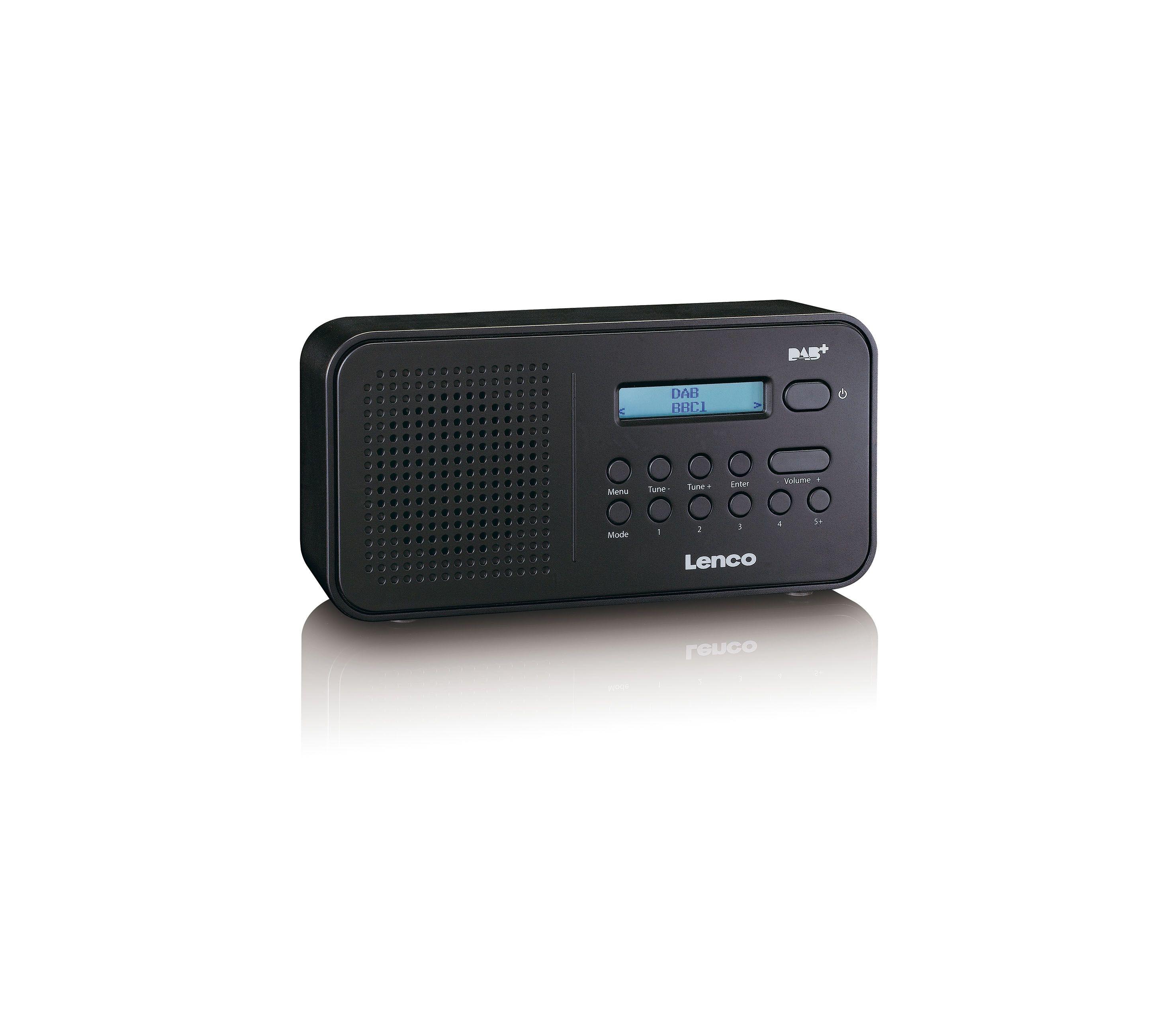 Lenco PDR-015 DAB radio Zwart