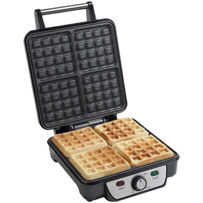 Bestron wafelmaker ASW281 rvs